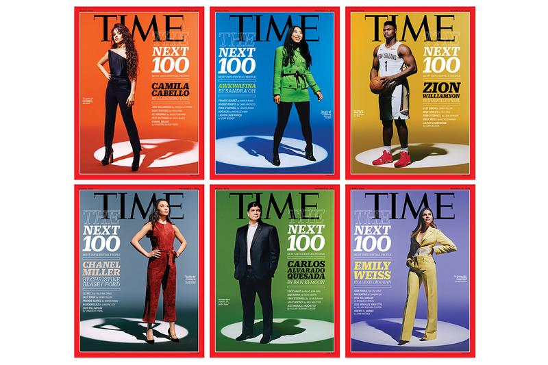 Time 100 Next List Features Rising Stars Info politics fashion music entertainment activists Kerby Jean-Raymond desus mero bad bunny coco gauff zion williamson nba tennis ricky martin Shaquille O'Neal billy ray cyrus
