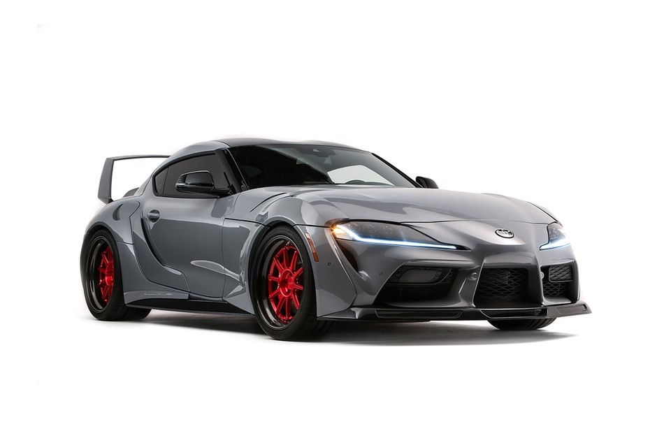 Toyota Unveils Hyperboosted 750 BHP Supra at SEMA 2019