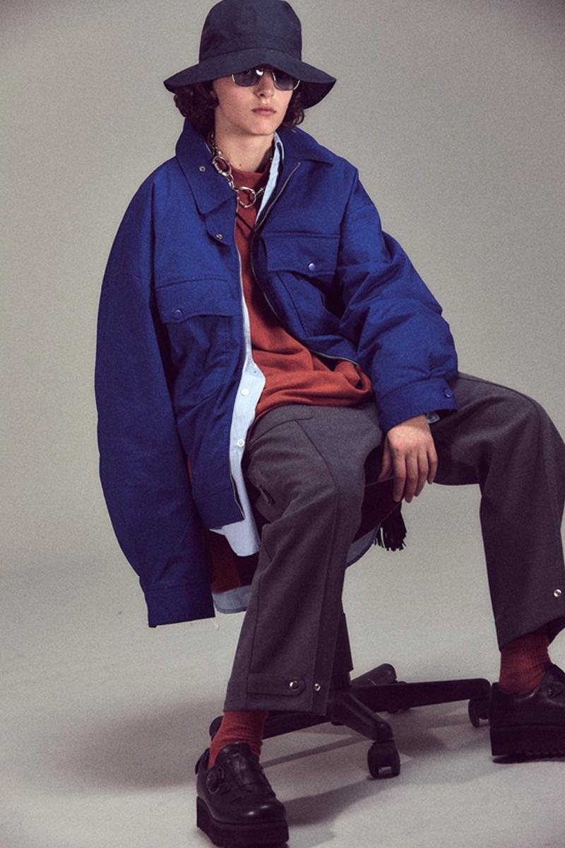 UMAMIISM Fall Winter 2019 Collection Lookbook layers collection victorian classics steampunk Your eyes are full of stars functional garments apparel coats jackets hi tech