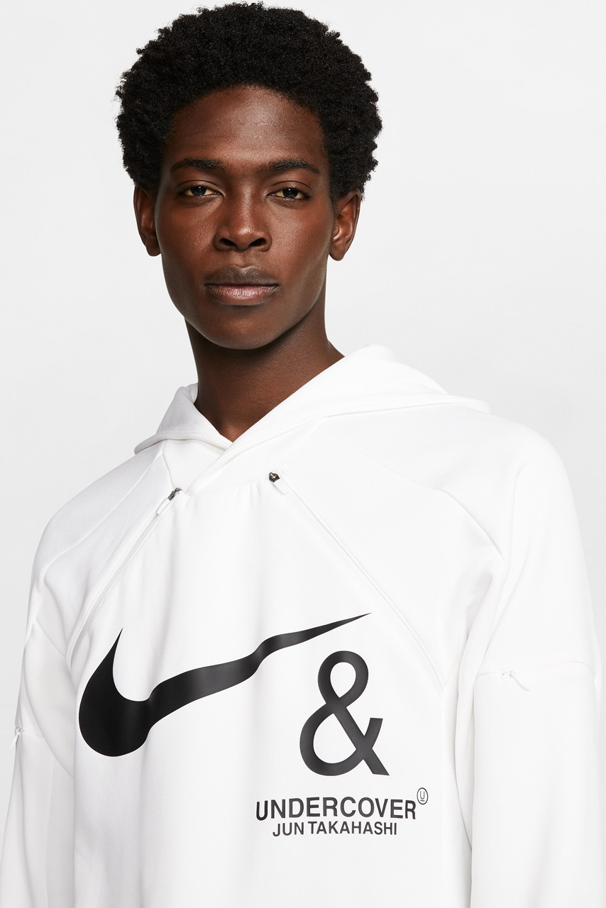 undercover nike jun takahashi air max 720 react boot fishtail parka jacket release date info photos price fall winter 2019 2020 clothing hoodie sweatshirt