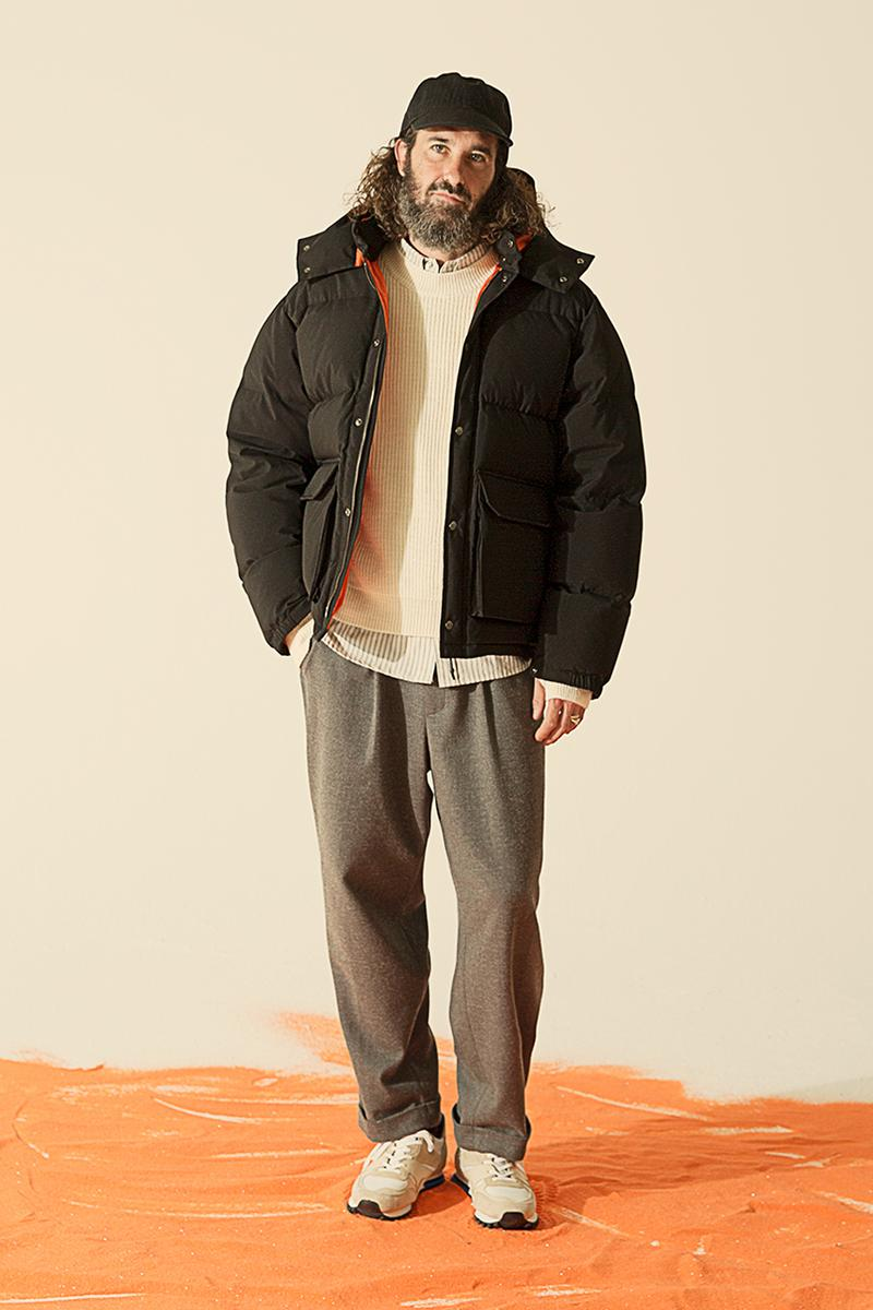 Uniform Bridge FW19 Delivers Endless Outerwear options jeans chinos sweatshirts hats cozy korean brand lookbook fall winter 2019