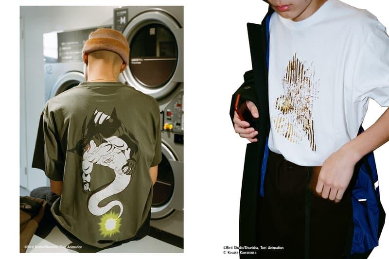 "UNIQLO's ""Dragon Ball UT"" x Kosuke Kawamura Capsule uniqlo goku broly gotenks trunks future vegeta"