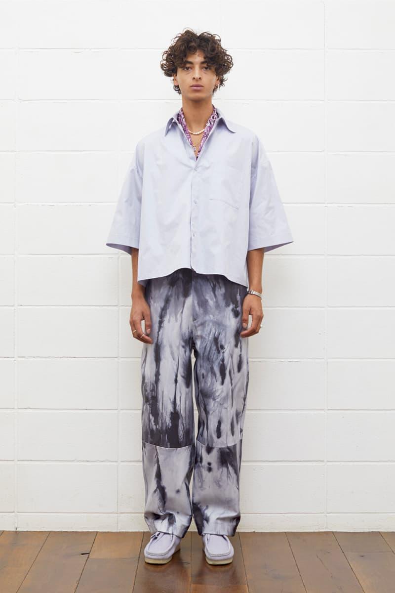 UNUSED Spring Summer 2020 Lookbook pastel earth tone outerwear japanese designer streetwear brand asap rocky coverchord casualwear menswear womenswear americana tailoring