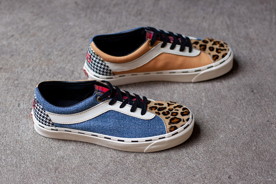 """Vans' New Bold Ni """"Bender"""" Pairs Leopard With Denim, Houndstooth & More"""