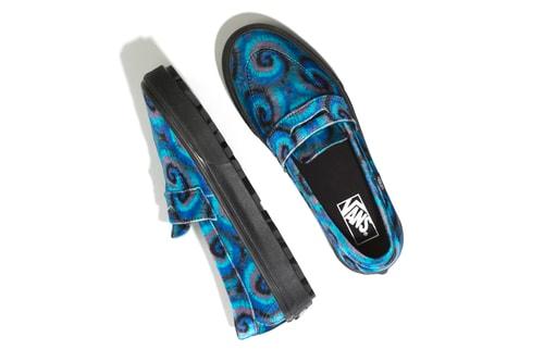 Vans Shares Trippy Tie-Dye Footwear Pack