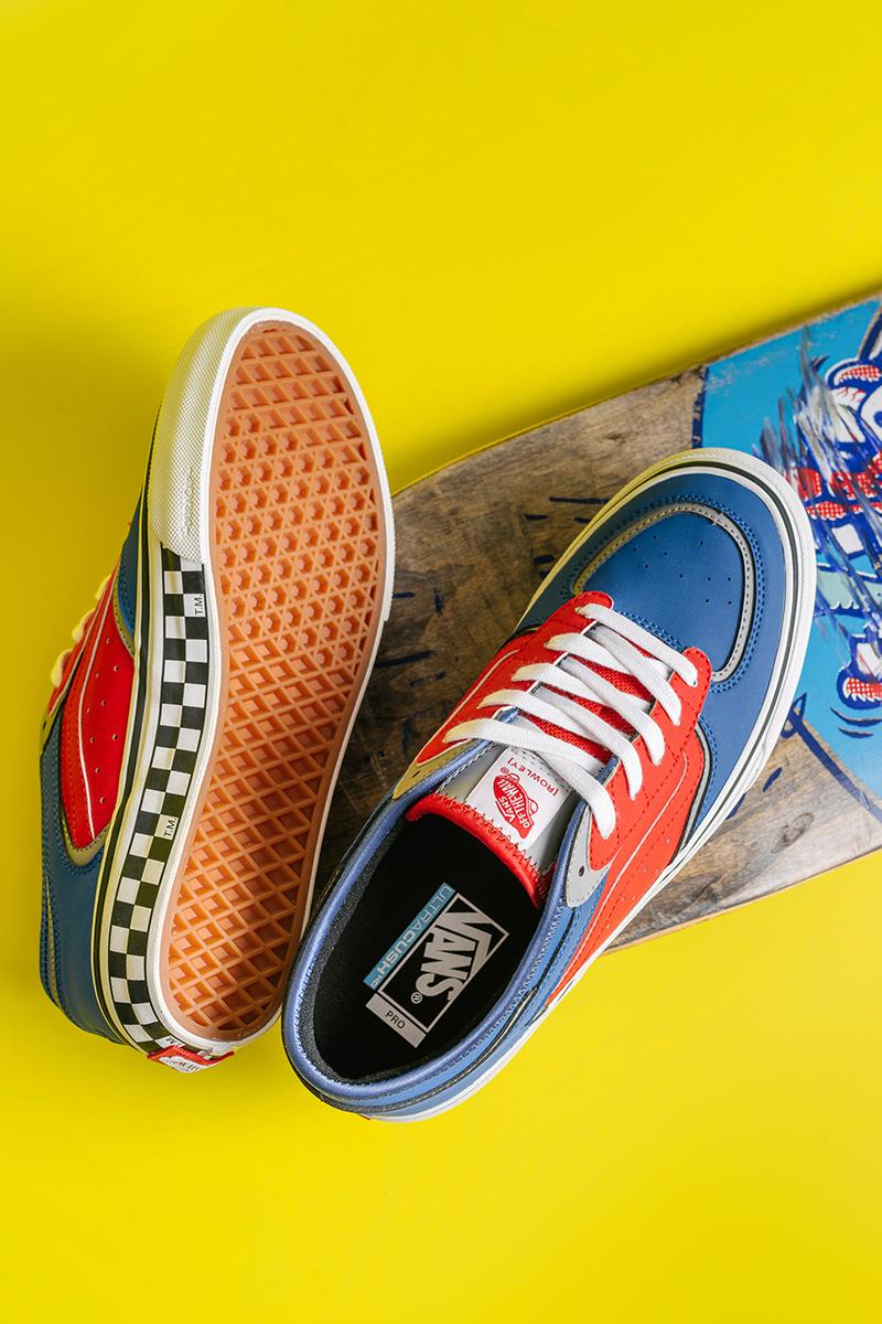 geoff rowley vans pillow heat henry davies collector archivist vans pro skateboarding boarder release information limited edition buy cop purchase carnaby street store