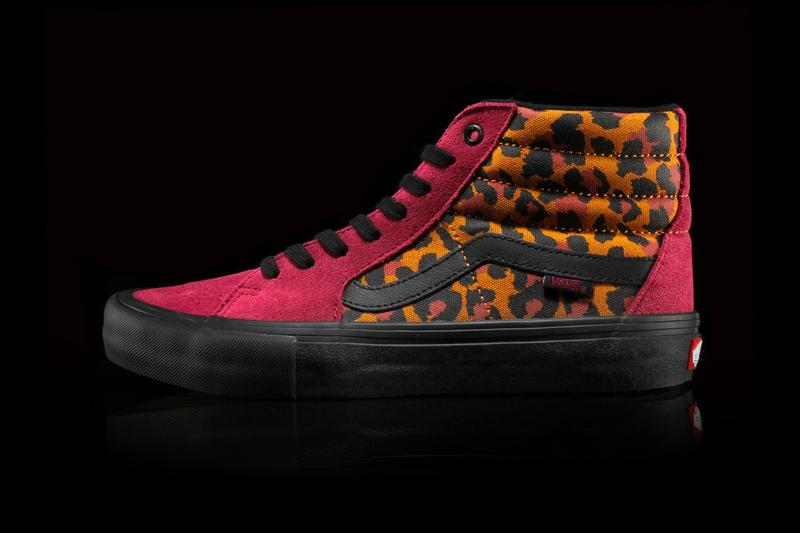 Vans Beet Red Punk Footwear Pack
