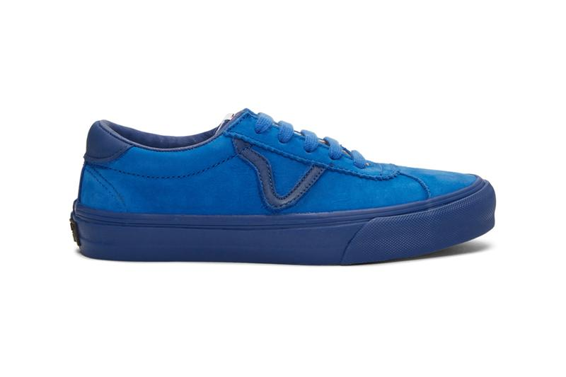 Vans Epoch Sport LX Sneakers Yellow blue black footwear trainers runners shoes retro skateboarding california tonal nubuck waffle sole off the wall ceylon vault vintage royal nautical