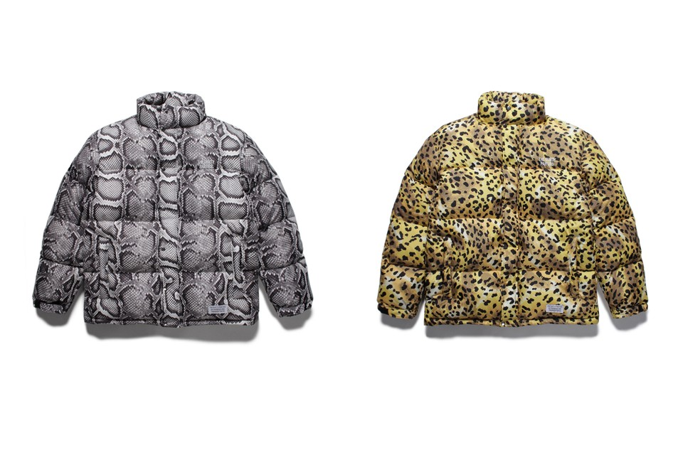 WACKO MARIA Drops Two Vibrant Animal Print Puffers
