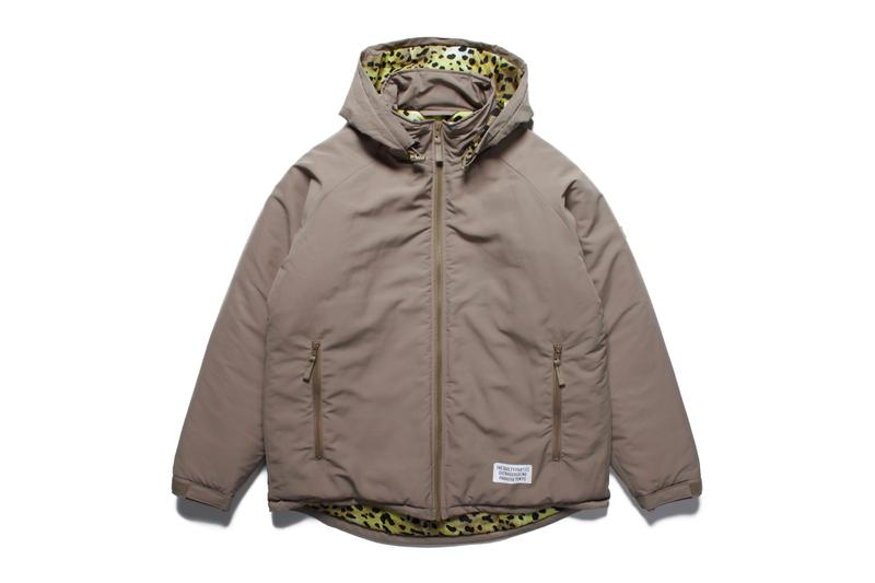 Wild Things Wacko Maria Monster Parka primaloft snakeskin leopard insulation padded down waterproof shell outerwear jackets fall winter 2019 collaborations
