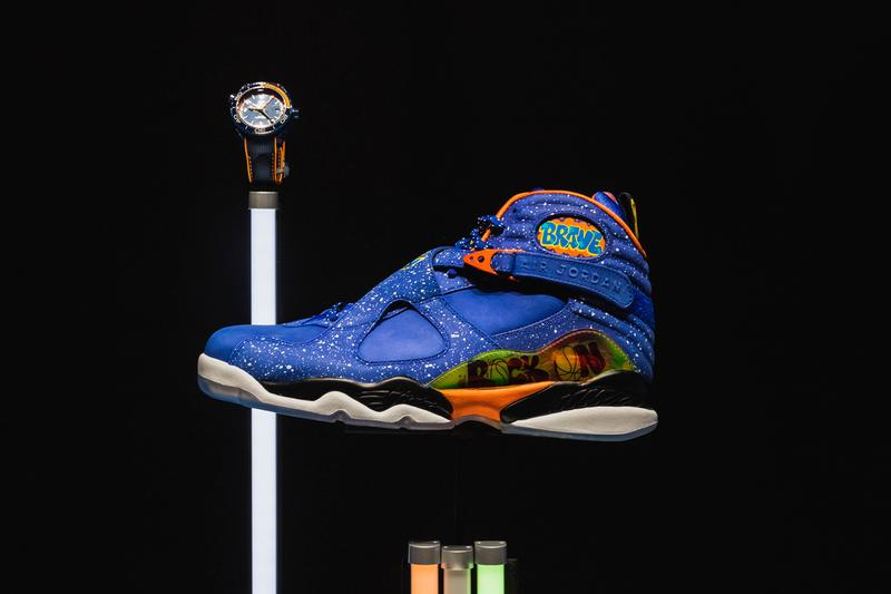 """Watches of Switzerland """"Sneaker Time"""" Exhibition watches and sneakers stadium goods rare footwear expensive limited edition watches timepieces"""