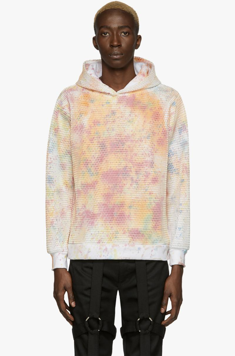 WHO DECIDES WAR by MRDR BRVDO Launches SSENSE Exclusive Collection Fall Winter 2019 FW19 Virgil Abloh Collaborator Italian Silks Cotton Canvases Anti 666 Logo Jacket Hoodie Vest T-Shirt Trousers Cargo Pants Sustainable Clothing