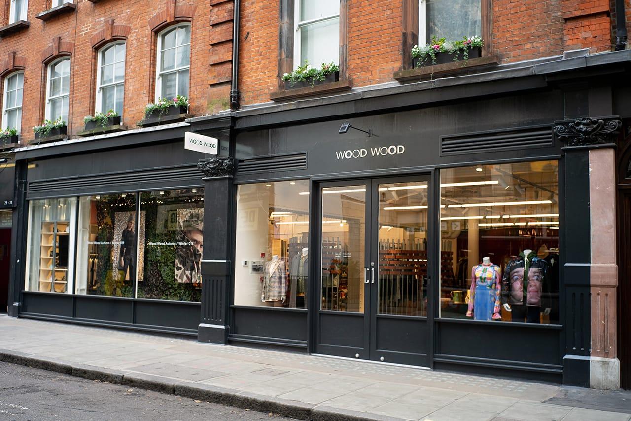 Wood Wood London Store Look Inside