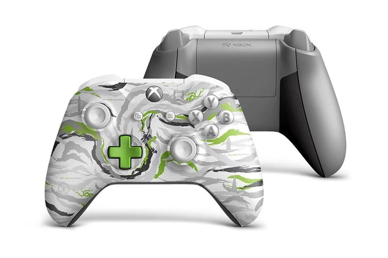 maharishi's DPM Studio x Xbox Limited-Edition Controller gaming video games wireless X019 london event