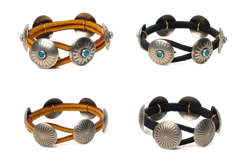 Yuketen Fall Winter 2019 Jewelry accessories silver bracelets pins necklaces money clip pendant leather ring concho yuki matsuda maine made in usa artisans yuki matsuda americana