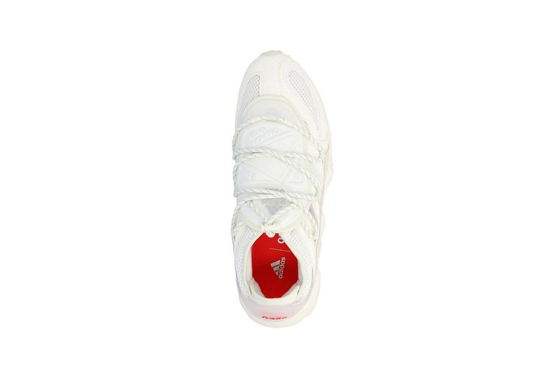 032c x adidas FYW S-97 Salvation First Look Release Information Cop Online Early White Sneaker Red Branding Marc Goehring Mesh Suede Panels EQT