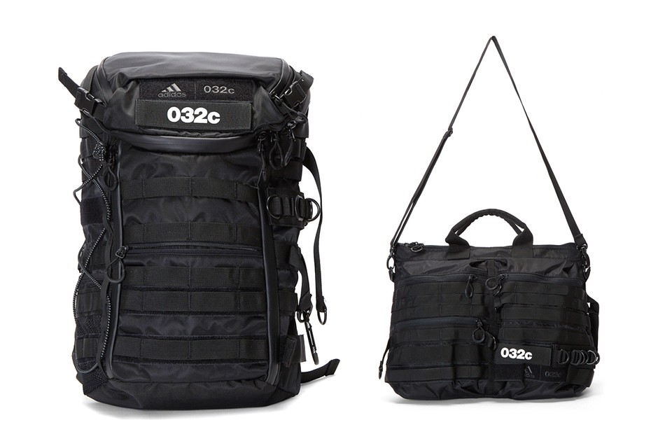 032c & adidas Link up for a Trio of Multi-Functional Carrying Solutions