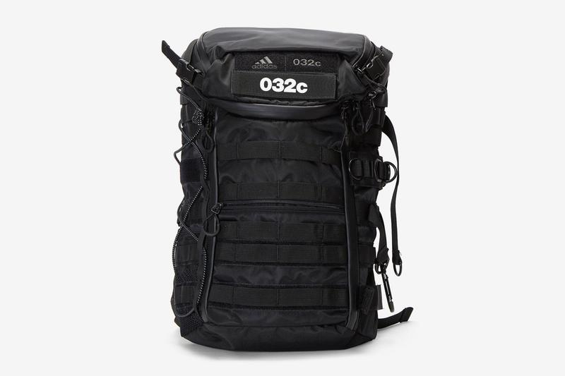 032c adidas originals consortium Multi Functional Backpack weekend duffle bag d ring belt pouch sac carrying solutions publication berlin accessories water resistant nylon ballistic