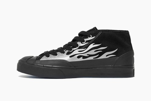 """A$AP Nast x Converse Jack Purcell Mid """"Flames"""""""
