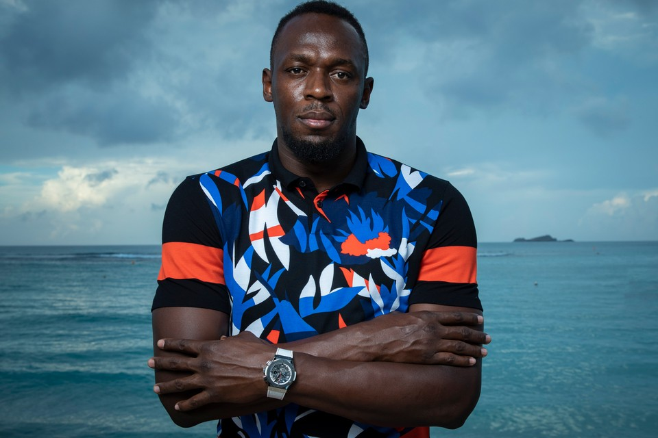Hublot Taps Usain Bolt to Debut Classic Fusion Eden Rock Watches