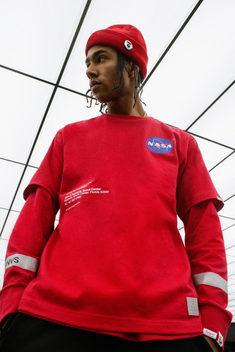 AAPE's NASA Fall/Winter 2019 Collection aape by a bathing ape bape lookbooks space suits ships
