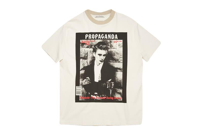 "Acne Studios ""Propaganda"" Capsule Collection scandinavian fashion menswear womenswear lookbook goth subculture magazine underground clubbing garments clothes music art literature product images punk"