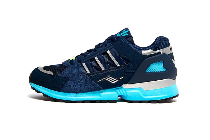 "adidas Consortium ZX 10000 C JC ""Navy/White"" Jacques Chassaing Release Information OG Three Stripes Torsion '90s Runner Premium Suede Mesh 3M"