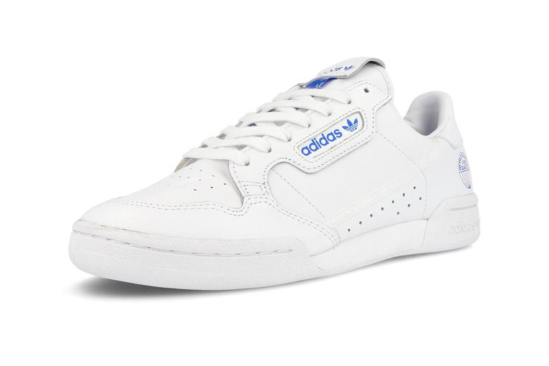 adidas Continental 80 White Bluebird sneakers footwear shoes trainers runners kicks originals world famous for quality clean minimal FV3743 retro vintage tennis fall winter 2019