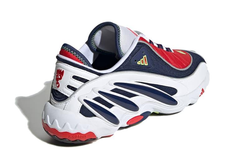 adidas fyw 98 eqt solution originals white red dark blue solar yellow feet you wear fv3910 release date info photos price