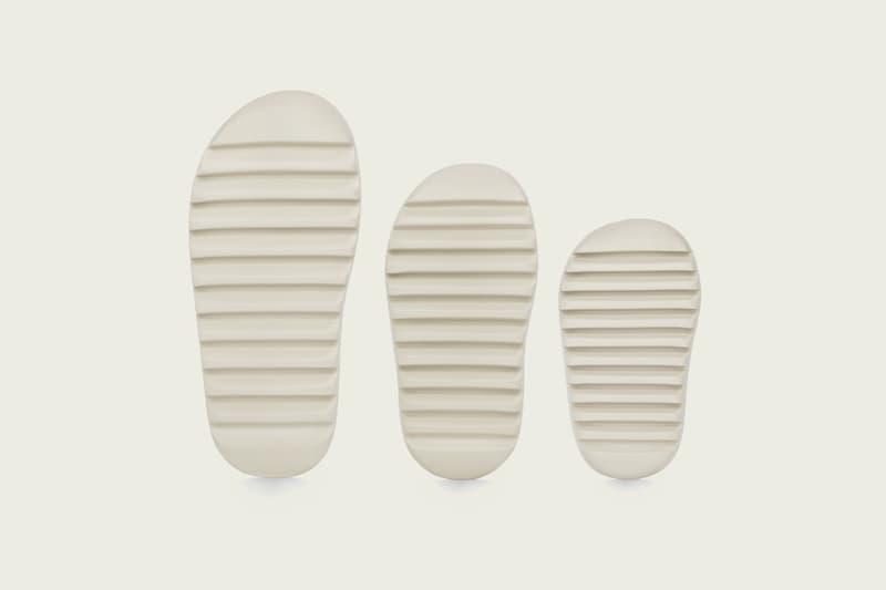 adidas YEEZY Slide Release Date DESERT SAND kanye west adidas originals footwear sandals BONE RESIN