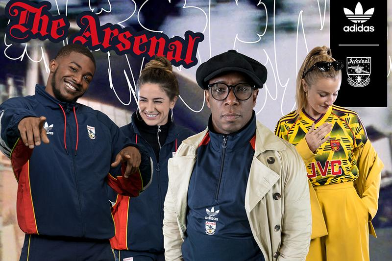 arsenal adidas originals brusied banana away jersey 1991 1993 1990s recreation ian wright hector bellerin lacazette collection release information buy cop purchase