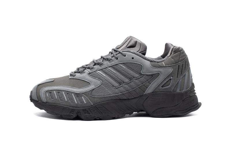"adidas Originals Torsion TRDC ""CRYWHT"" ""GRYSIX"" Sneaker Release Information Footwear Three Stripes First Look '90s Trediac ZX adiPRENE"