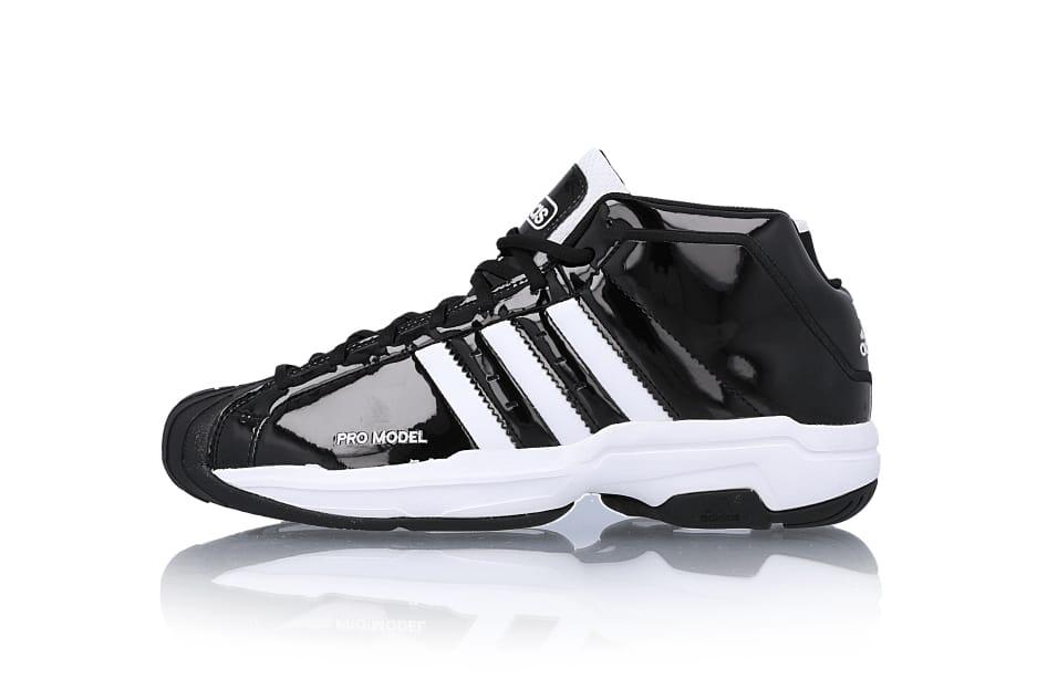 adidas Pro Model 2G Black/White \u0026 White
