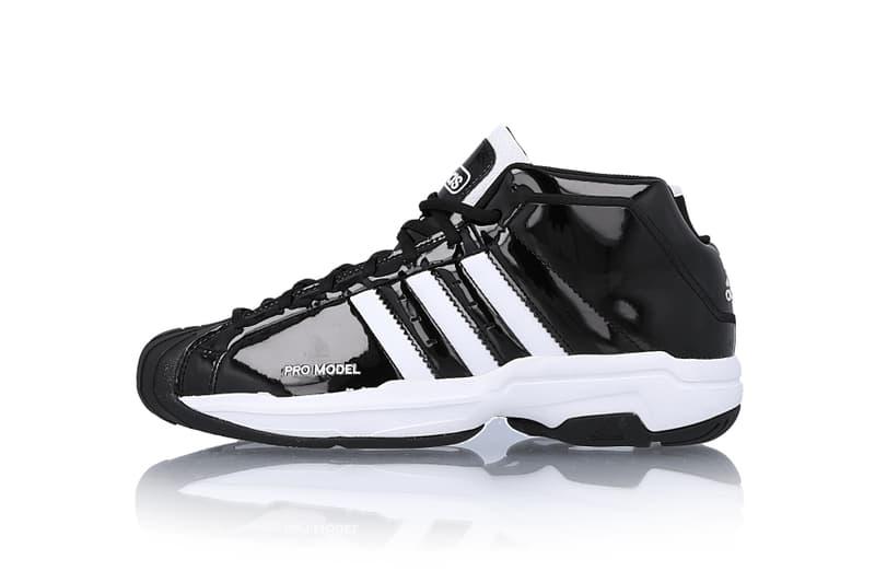 Adidas Pro Model 2g Black White White Black Info Hypebeast