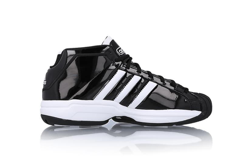 montar desvanecerse calcio  adidas Pro Model 2G Black/White & White/Black Info | HYPEBEAST