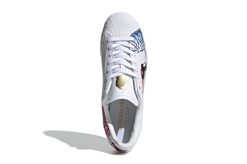 adidas superstar clean chinese new year of the rat tiger crane cloud white gold metallic FW5351 release date info photos price