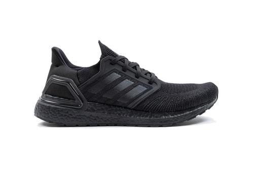 """adidas UltraBOOST 20 Appears in """"Core Black"""""""