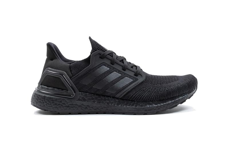 adidas ultraboost 20 all core black grey four EG0691 release date info photos price colorway