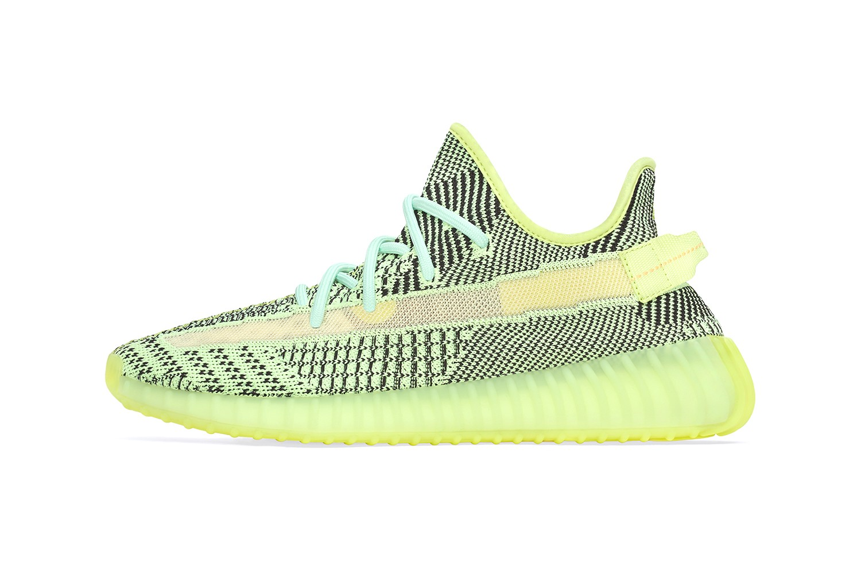 yeezy verde neon
