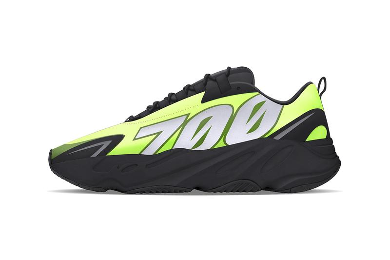 adidas YEEZY BOOST 700 MNVN Phosphor Release Rumor Info Date Buy Green Black