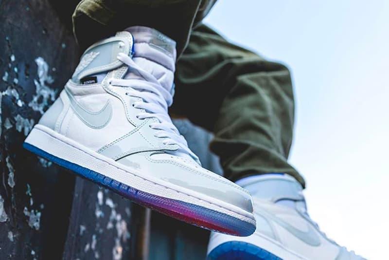 "Air Jordan 1 High Zoom ""Racer Blue"" Release Info Michael Jordan AJ1 Wings Jordan brand Nike sneakers kicks footwear"