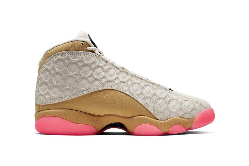 air jordan 13 cny chinese new year CW4409 100 Pale Ivory Black Digital Pink Club Gold release date info photos price
