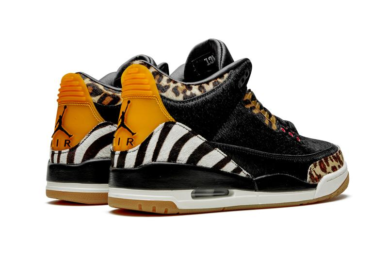 "Air Jordan 3 ""Animal Pack"" Sneaker Release Where to buy Price 2019"