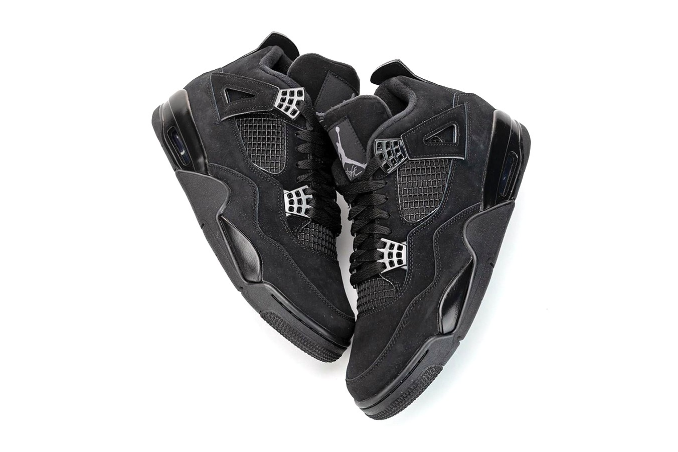 """Air Jordan 4 """"Black Cat"""" 2020 Retro"""