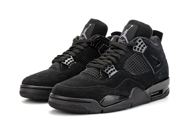 air jordan 4 black cat 2020 retro shoes sneakers kicks