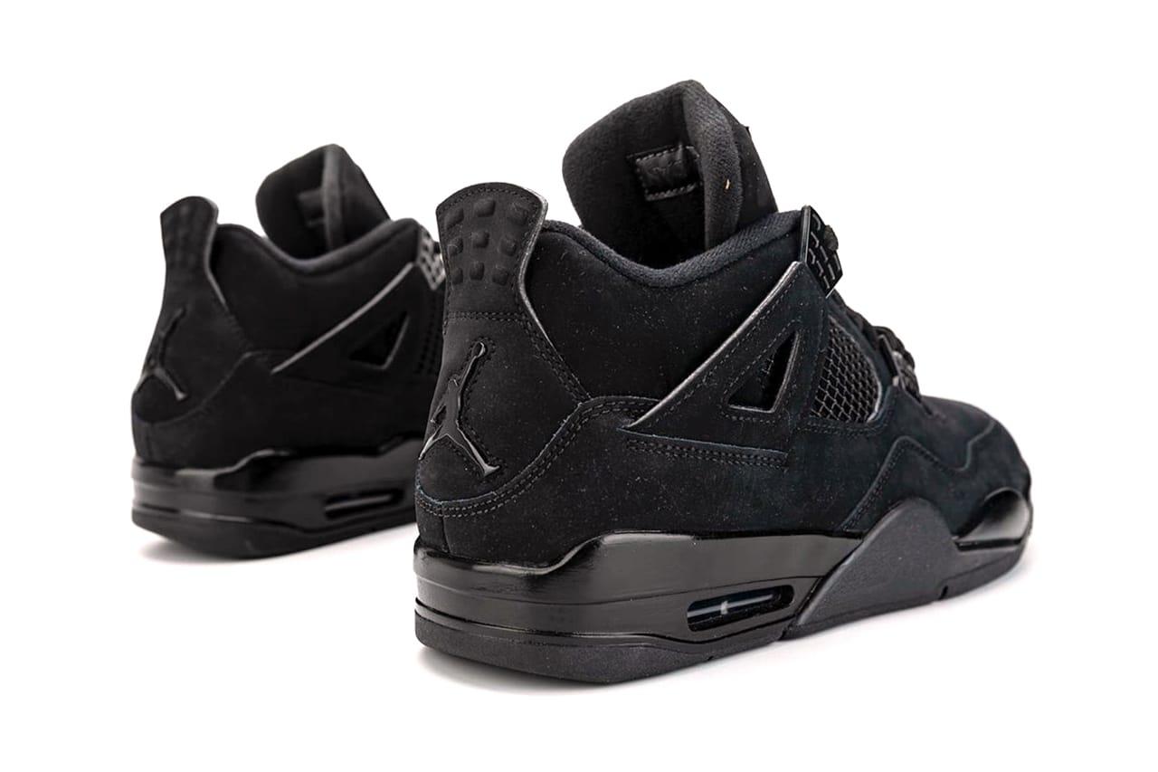 black 4 jordans