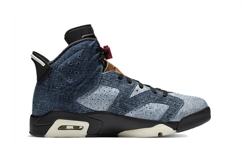 """Upcoming Air Jordan 6 in """"Washed Denim"""" Gets an Official Look & Release Date"""