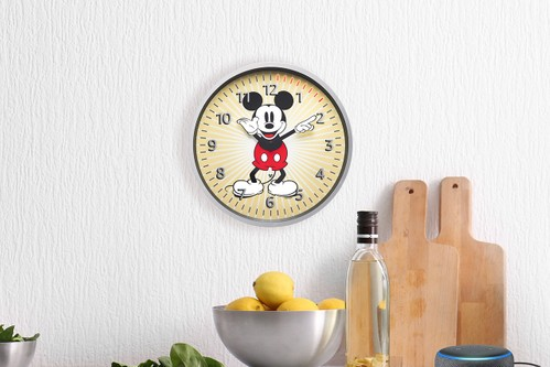 Amazon & Disney Unveil Alexa-Equipped Mickey Mouse Echo Wall Clock