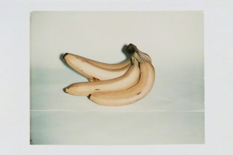 Andy Warhol Photography Survey Jack Shainman Gallery Bananas Flowers Eiffel Tower Chair Sneakers Polaroids Crabs