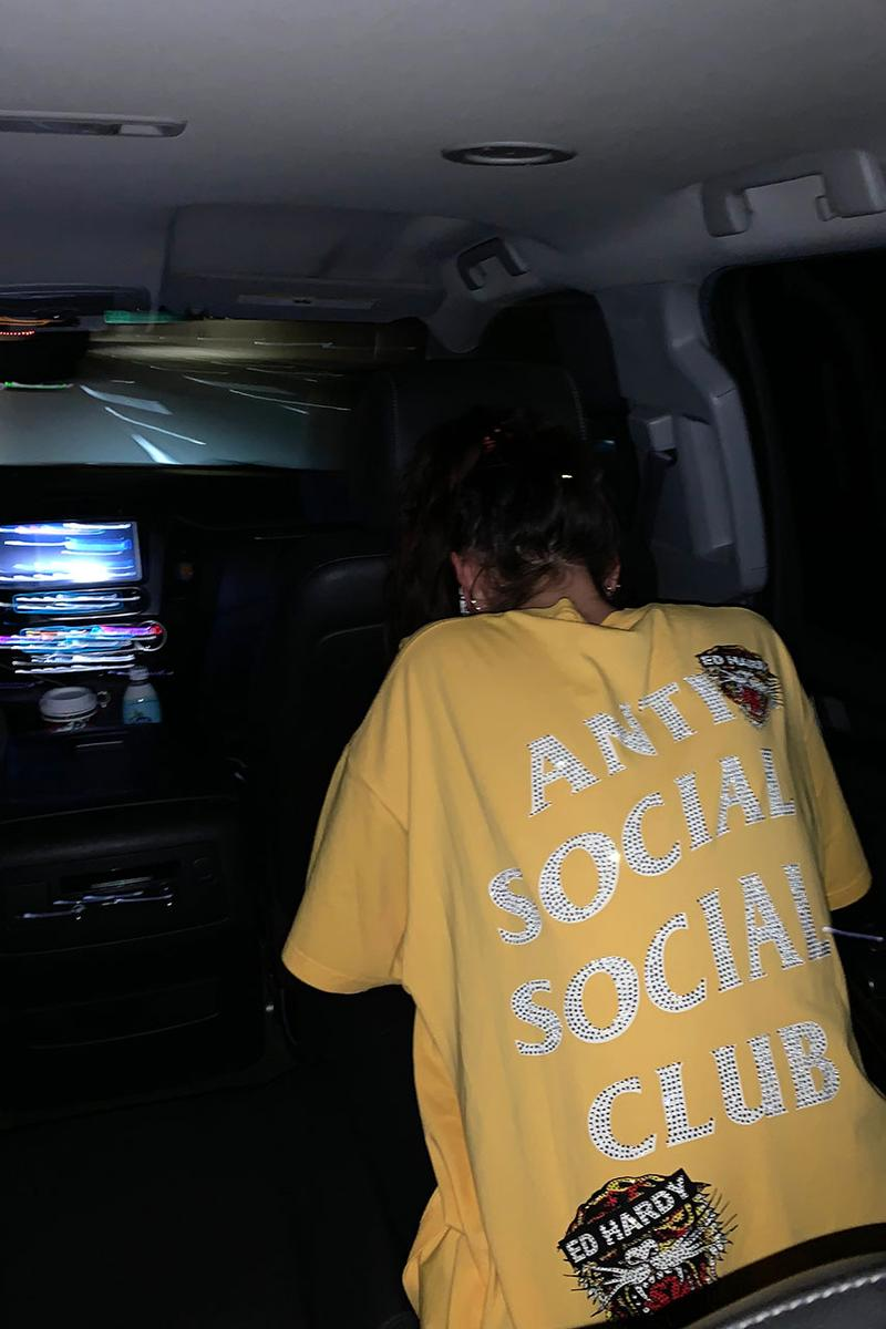 Ed Hardy x Anti Social Social Club Collaboration Collection china exclusive tee shirts december 26 2019